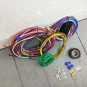 Glass Fuse Wire Harness For 32 48 Studebaker Nose To Tail Period Correct 12v 55t