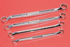 Snap On 3 8 7 8 Standard Flank Drive 10 Standard Offset Box Wrench Set
