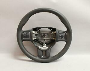 13 14 15 16 Dodge Dart Black Leather Steering Wheel