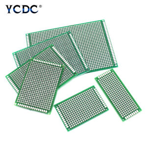5 10pcs One duel Side Pcb Printed Circuit Prototype Board Universal Breadboard