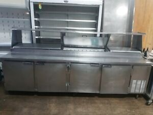 Used Beverage air Pt119 119 Four Door Pizza Prep Table