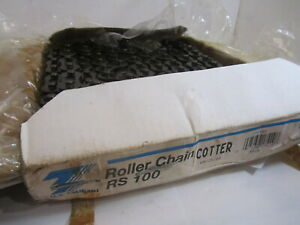 Us Tsubaki Rs100 Roller Chain Cotter
