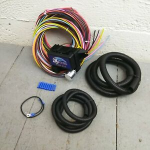 Wire Harness Fuse Block Upgrade Kit For 1965 1970 Plymouth Fury Rat Rod