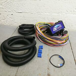 1963 1966 Chevrolet C10 Pickup Truck Wire Harness Fuse Block Upgrade Kit