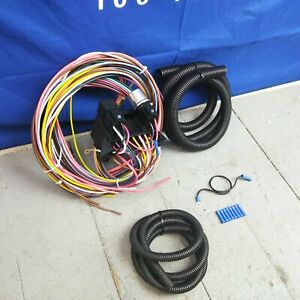 1967 1976 Ford Thunderbird Ultra Pro Wire Harness System 12 Fuse Update
