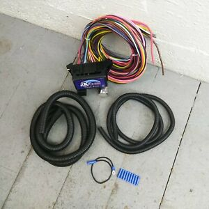 Wire Harness Fuse Block Upgrade Kit For 1937 1938 Terraplane Hot Rod