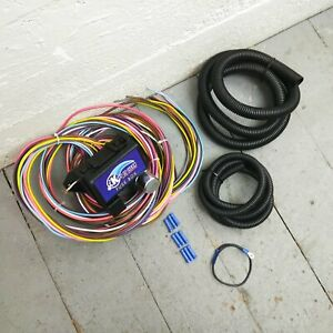 1932 1948 Packard Ultra Pro Wire Harness System 12 Fuse Replace Update Rat Rod