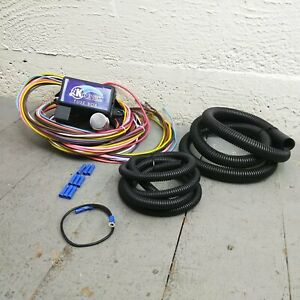 1953 1970 Volkswagen Ultra Pro Wire Harness System 12 Fuse Long Update Coded