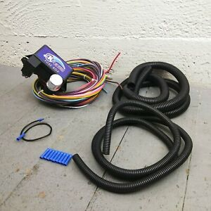 1965 1974 Dodge Charger Ultra Pro Wire Harness System 12 Fuse Color Complete
