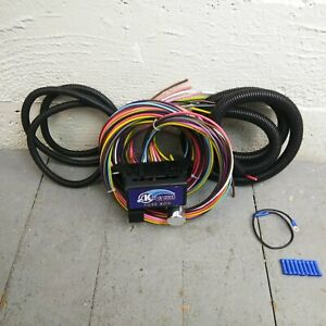 Wire Harness Fuse Block Upgrade Kit For 1946 1954 Willys Panel C Frame