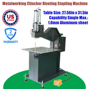Usa Metal Channel Letter Making Metalworking Riveting Machine Clincher Machine