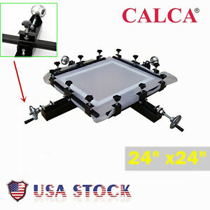 24 X 24 Manual Stretcher Screen Printing Plate Making Tool For Screen Printing