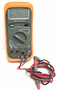 Blue Point Eedm503b Digital Multimeter With Leads