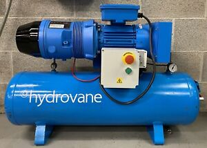 Hydrovane Hv02 Receiver Mounted Rotary Vane Compressor Dryer Filters 230v