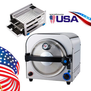 14l Usa Dental Medical Autoclave Steam Sterilizer Sterilization Lab Equipment Ce