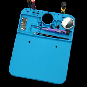 Soldering Mat Station Welding Silicone Microscope Pad Anti Static Heat Resistant