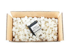 Funpak Packing Peanuts White Star Shaped 1 5 Cu Ft Bag Compostable Biodegradable