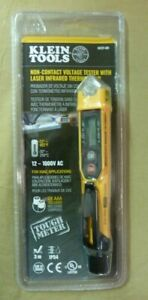 Klein Tools Ncvt 4ir Non contact Voltage Tester With Infrared Thermometer Sealed