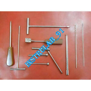 Cannulated Screw Instruments Complete Set Orthopedic Surgical Instruments