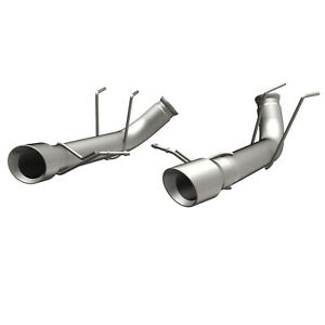 Exhaust Muffler Kit race Series Stainless Axle back System Fits 13 14 Mustang