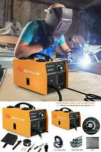 Mig 130 Welder Less Flux Core Wire Automatic Feed Welding Machine W free Mask