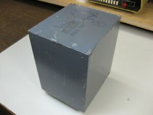 Heavy 49vct 5a Potted Power Transformer Extra Taps On One Side Of Secondary