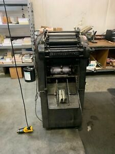 Ab Dick 9810 4 Ab Dick 360 Challenge Cutter Collator Camera Paper Drill