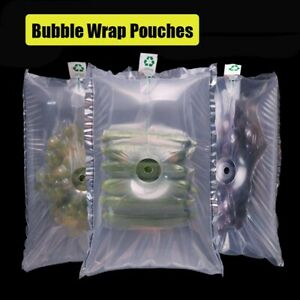20pcs Travel Bags Bubble Wrap Inflatable Air Packaging Buffer Plastic Cushion