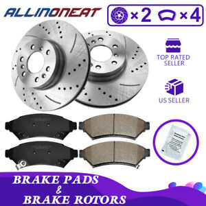 For 2006 2007 2008 2009 Chevrolet Uplander Front Brake Rotors And Pads
