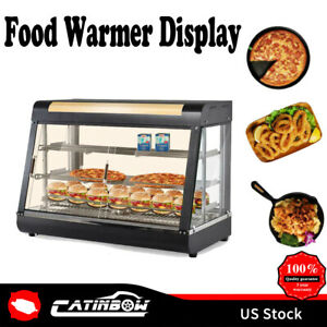 15 27 35 Commercial Food Warmer Court Heat Food Pizza Display Warmer Cabinet