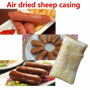 10pcs Sausage Casing 10pcs Dry Sheep Natural Cover 2 5m Skin 18mm To 20mm Covers