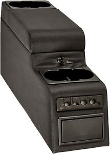 Vdp 1976 1995 Fits Jeep Wrangler Suv Van Ultimate Locking Center Console Black