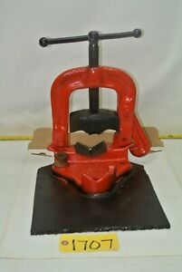 Ridgid Tool 25 Pipe Vice Bench Style Plumbing Electrical Tool Free Ship