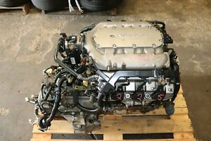 Jdm 03 07 Honda Accord 3 0l V6 J30a Engine And A t Transmission