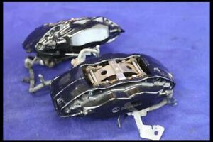 2007 2012 Ford Mustang Shelby Svt Gt500 Brembo Brake Calipers Pair 4 Piston