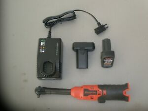 Snap on Ctr717 1 4 Cordless Ratchet W 2 14 4v Micro Li ion Batteries Charger