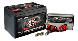 Xs Power Battery Xp1000ck1 Agm Xp Series Battery And Charger Kit 16v
