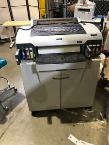 Epson Stylus Pro 4000 Large Format Color Printer See Print Test In Photos