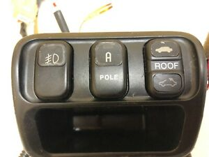 Jdm Honda Prelude Bb5 Bb6 Fog Light Pole Sunroof Switch With Some Wiring Oem 16