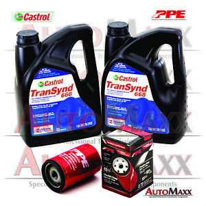 Allison Transynd Full Synthetic Transmission Fluid Pkg 2 Gal 1 Ppe Filter