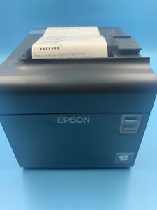 New Epson Tm l90 M313a Thermal Pos Label Receipt Printer W Ac Adapter