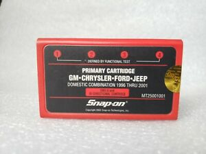 Snap On Mt25001001 Primary Cartridge Gm Chrysler Ford Jeep 1996 Thru 2001