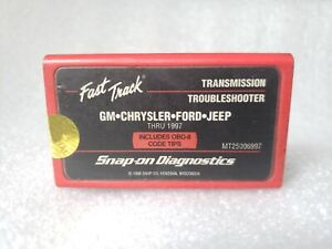 Snap on Mt25006997 Cartridge Gm Chrysler Ford Jeep Mt2500 Thru 1997 Fast Track