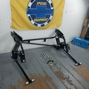 1968 1974 Chevy Nova Bolt on Adjustable Rear 4 link Kit W 230lbs Coilovers Gm