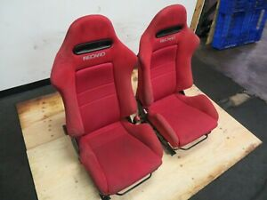 Jdm Dc5 Recaro Seats Integra Type R Acura Rsx Seats Red Recaro
