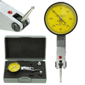 0 0 01mm Precision Dial Test Indicator Level Gauge Metric Scale Dovetail Rails