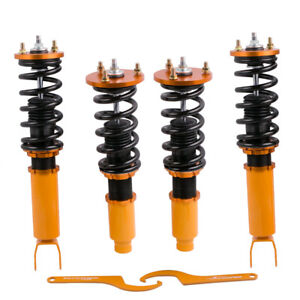 Complete Coilovers Suspension Kit Fit Honda Accord 2008 2012 Adj Height Struts
