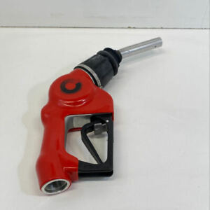 Emco Wheaton A4505 Red Automatic Gas Fuel Nozzle Handle Assembly Cosmetic Signs