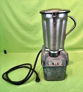 Waring Cb 5 Commercial Heavy Duty Tabletop Blender W Stainless Steel Pitcher