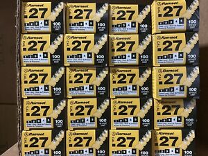 Lot Of 20 Ramset 4rs27 27 Cal Yellow Strip Shot 2000 Shot Total